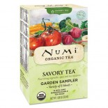 [Numi Tea] Savory Teas Garden Sampler  At least 95% Organic