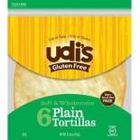 [Udi`S Gluten Free] Tortillas Plain, 9 inch, 8 count
