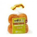 [Udi`S Gluten Free]  Buns, Whl Grain Hamburger 4 Pack