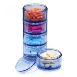 [Vitaminder]  Pill Case Stacker, Display Box
