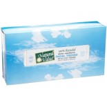 [Natural Value] 100% Recycled Paper Products, 80% Post Consumer Facial Tissue, 2-Ply
