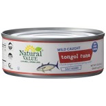 [Natural Value] Tuna (Dolphin Safe) Tongol, Salted