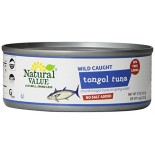 [Natural Value] Tuna (Dolphin Safe) Tongol, No Salt