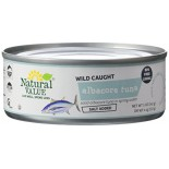 [Natural Value] Tuna (Dolphin Safe) Albacore, Salted