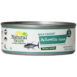 [Natural Value] Tuna (Dolphin Safe) Yellowfin, No Salt