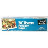 [Natural Value] Plastic Bags & Wrap (No PVC`s or Plasticizers) Freezer Bags, Slider, Gal