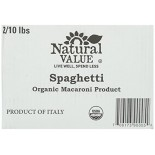 [Natural Value] Pasta Spaghetti  At least 95% Organic