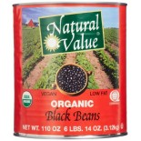 [Natural Value] Beans Black  At least 95% Organic