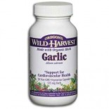 [Oregon`S Wild Harvest] Single Encapsulated Herbs, Non-GMO Garlic  At least 70% Organic