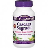 [Oregon`S Wild Harvest] Single Encapsulated Herbs, Non-GMO Cascara Sagrada