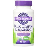 [Oregon`S Wild Harvest] Combination Encapsulated Herbs, Non-GMO Milk Thistle Dandelion