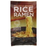 [Lotus Foods] Rice Ramen Millet/Brwn Rice w/Miso Soup  At least 70% Organic
