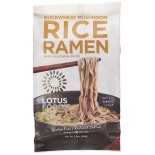 [Lotus Foods] Rice Ramen Buckwheat Mushroom, Brown  At least 70% Organic