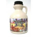 [Coombs Family Farms] Organic Maple Syrup, Dark Color Grade A, Robust Taste, Plastic  At least 95% Organic