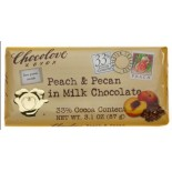 [Chocolove]  Peach Pecan in Milk Chocolate