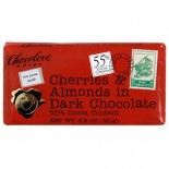 [Chocolove] Chocolate Bars Dark With Cherries & Almonds