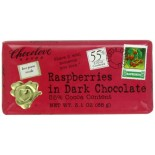 [Chocolove] Chocolate Bars Dark With Raspberries