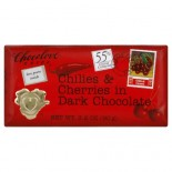 [Chocolove] Chocolate Bars Dark, Chili Cherry