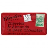 [Chocolove] Mini Chocolate Bars Dark With Cherries & Almonds