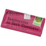 [Chocolove] Mini Chocolate Bars Dark With Raspberries
