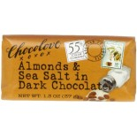 [Chocolove] Mini Chocolate Bars Almonds & Sea Salt in Dark Choc