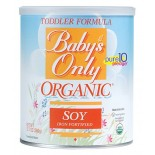 [Babys Only Organic] Toddler Formula Toddler, Soy Based, Powder  At least 95% Organic