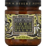 [Desert Pepper Trading Co] Mexican/American Salsa Corn, Black Bean, Rstd Red Pepper