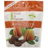 [Made In Nature] Dried Fruit Apricots, Turkish  At least 95% Organic