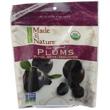 [Made In Nature] Dried Fruit Plums  At least 95% Organic