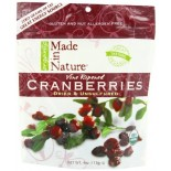 [Made In Nature] Dried Fruit Cranberries  At least 95% Organic
