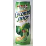 [Amy & Brian] Natural Young Coconut Juice With Pulp