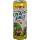 [Amy & Brian] Natural Young Coconut Juice With Lime