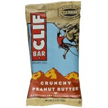 [Clif Bars] Clif Bars - 100% Natural Nutrition Bars Crunchy Peanut Butter  At least 70% Organic