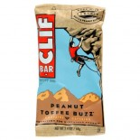 [Clif Bars] Clif Bars - 100% Natural Nutrition Bars Pnut Toffee Buzz  At least 70% Organic