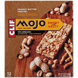 [Clif Bars] Mojo Bars Peanut Butter Pretzel  At least 70% Organic