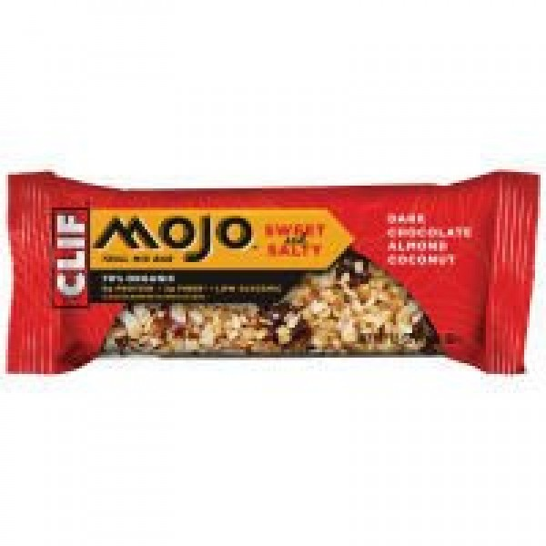 [Clif Bars] Mojo Bars Chocolate Almond Coconut  At least 70% Organic