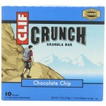 [Clif Bars] Crunch Granola Bars Chocolate Chip  At least 70% Organic