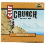 [Clif Bars] Crunch Granola Bars Peanut Butter  At least 70% Organic