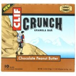 [Clif Bars] Crunch Granola Bars Chocolate Peanut Butter  At least 70% Organic