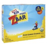 [Clif Bars] ZBars Iced Lemon Cookie  At least 95% Organic