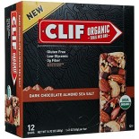 [Clif Bars] Organic Trail Mix Bars Dark Chocolate Almond Sea Salt  At least 95% Organic
