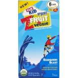 [Clif Bars] Kid ZFruit Plus Veggie, Blueberry Blast  At least 95% Organic