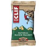 [Clif Bars] Clif Bars - 100% Natural Nutrition Bars Oatmeal Raisin Walnut  At least 70% Organic