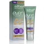 [Alba Botanica] Facial Care Products CC Cream, Light To Medium
