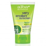 [Alba Botanica] Suncare Products Sunscreen, Min Facial, SPF 20