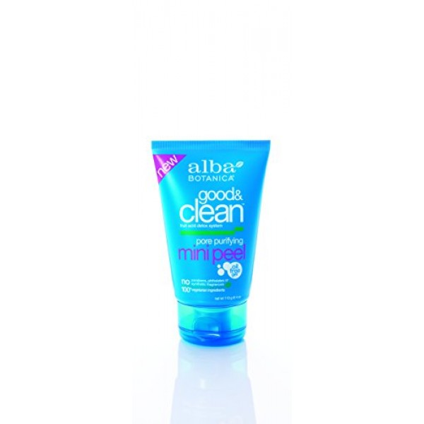 [Alba Botanica] Facial Care Products Pore Purifying Mini Peel,Good/Clean