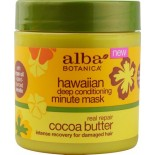 [Alba Botanica] Hawaiian Hair Care Deep Cond Minute Mask, Cocoa Butter