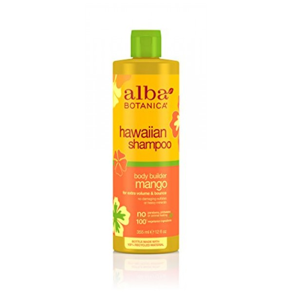 [Alba Botanica] Hawaiian Hair Care Mango Moisturizing Hair Wash