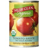 [Muir Glen] Canned Tomatoes Sauce, No Salt  At least 95% Organic