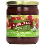 [Muir Glen] Fat Free Salsa Garlic Cilantro, Medium  At least 95% Organic